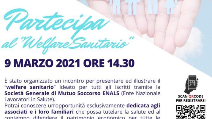UIL FPL LOMBARDIA – ENALS – PARTECIPA AL WELFARE SANITARIO 9 MARZO 2021 ORE 14,30